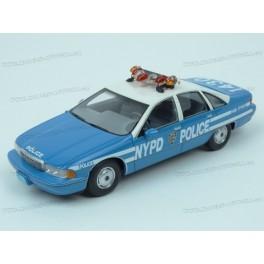 Chevrolet Caprice Sedan NYPD Police (New York Police Department) 1992, BoS Models 1:43