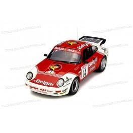 Porsche 911 SC RS Gr.B Belga Nr.14 Rally Ypres 1985, OttO mobile 1/18 scale
