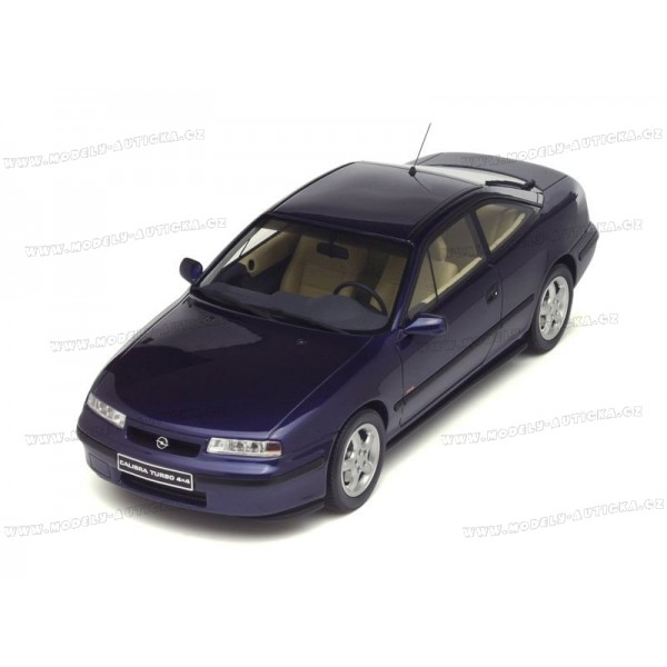 opel calibra turbo 4x4 1996 otto mobile 1 18 blue model. Black Bedroom Furniture Sets. Home Design Ideas